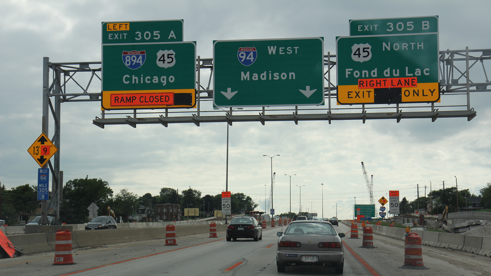 """<h3 style=""""color:#AAA;"""">CASE STUDY</h3><h4 style=""""color:#FFF; font-size:2em;"""">I-94 East-West Expansion in Milwaukee<br>COST: $1.15 billion</h4><p>Insisting on a wider road despite its own data showing that feared traffic increases are not materializing, the Wisconsin Department of Transportation wanted to rebuild an existing highway as an eight-lane double-decker route through a narrow channel between three cemeteries, despite objections from local officials and citizen groups.</p>"""